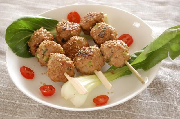 pork tsukune meatball