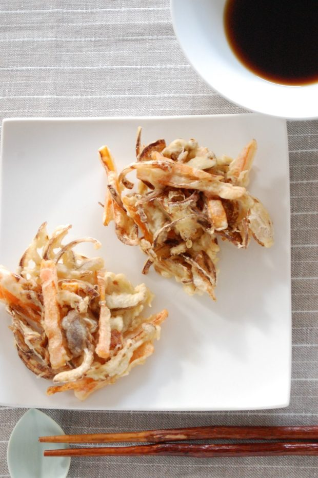 vegetable karaage tempura